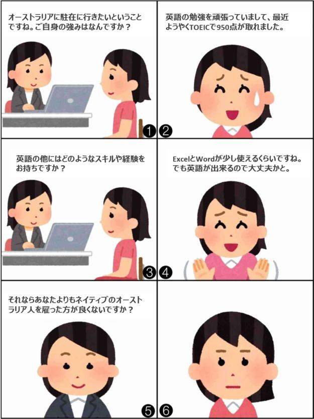 英語が出来れば海外で働けると思っている人へ