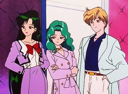 セーラームーンのみんなの私服は可愛くてオシャレなのに、なんで衛さんの私服だけは…😅