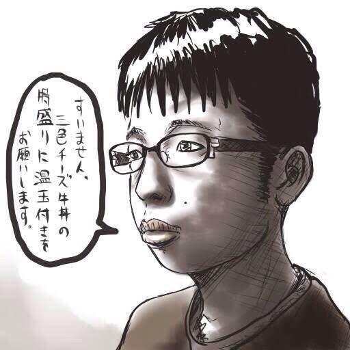 ちなみに黃之鋒は、自分が日本で「チー牛」と呼ばれてることを把握してて、自虐ネタも投稿してます