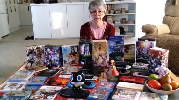 【画像】日本の萌えRPGを遊びまくる海外のお婆ちゃんが発見されるwww