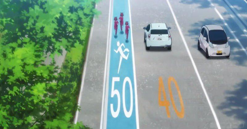 ウマ娘専用レーン、車より制限速度が上で草出た