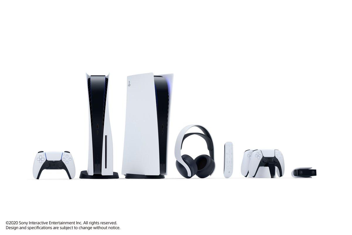 PlayStation®5および周辺機器を本日初公開しました