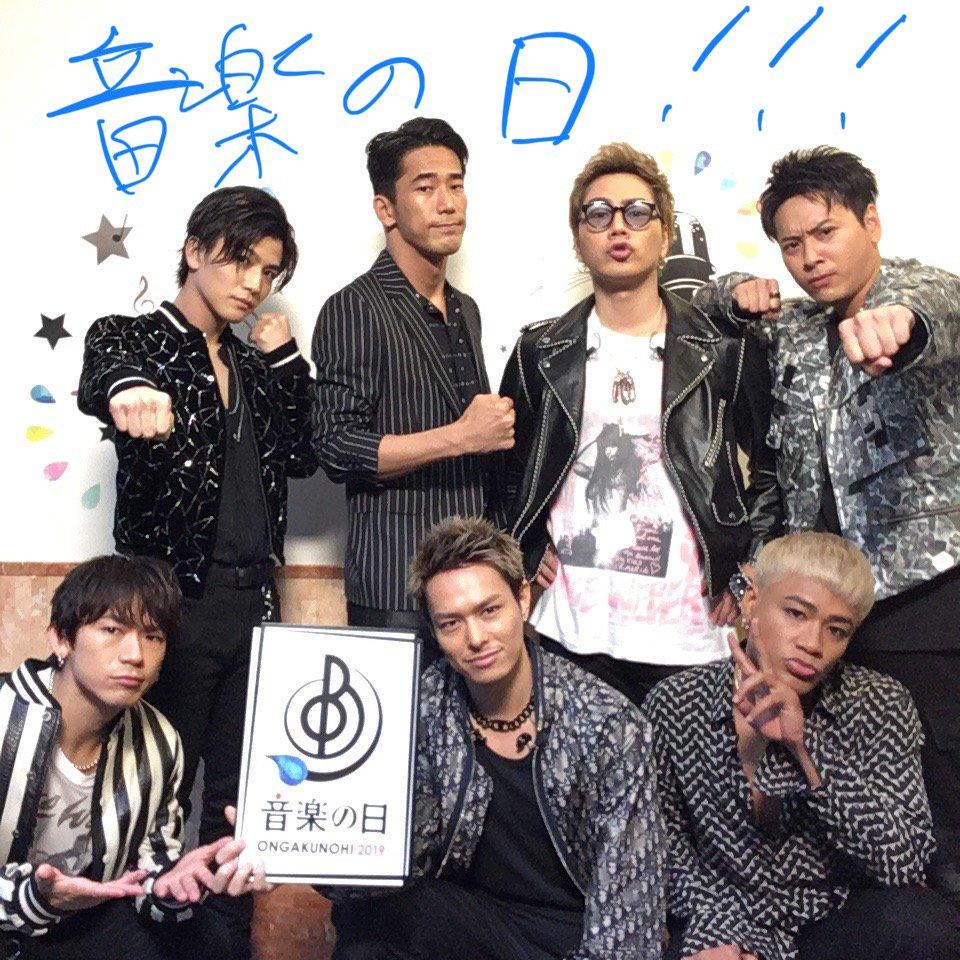 三代目 J Soul Brothers from EXILE TRIBEのみなさん