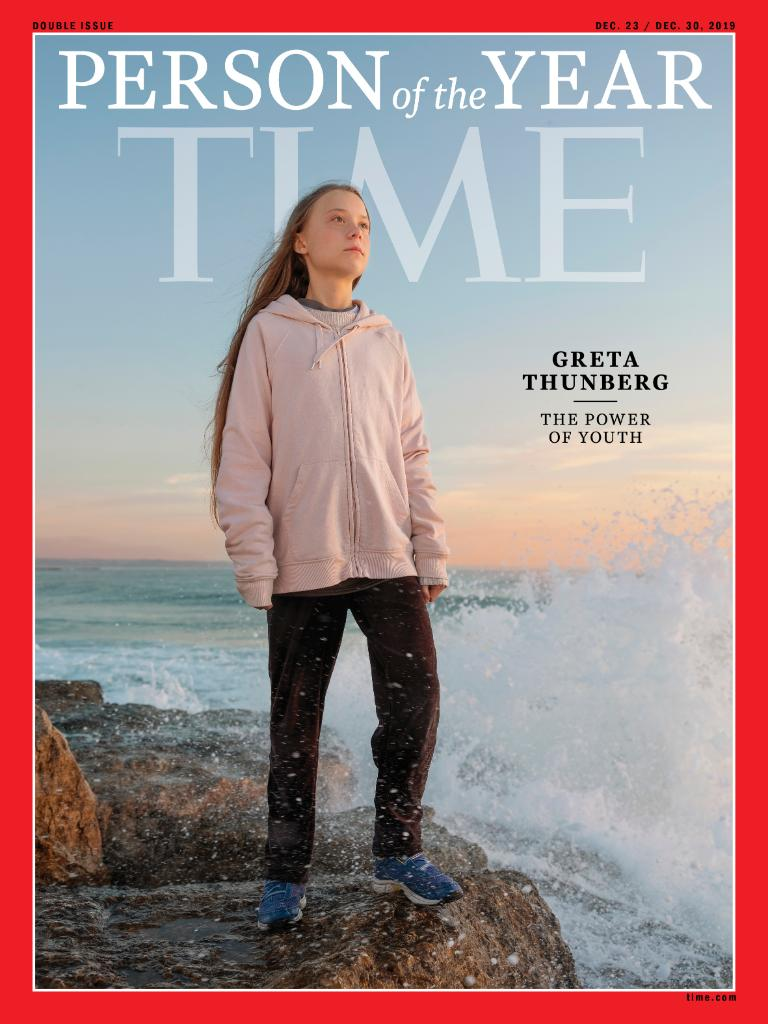 .@GretaThunberg is TIME's 2019 Person of the Year #TIMEPOY