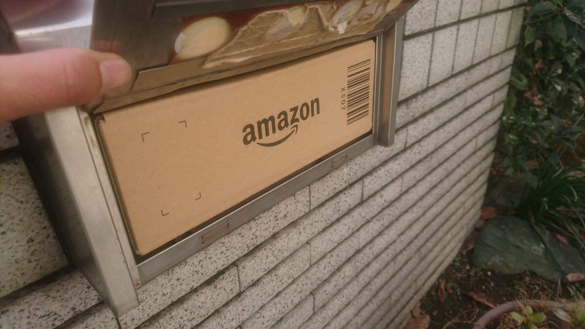 たまたま家帰れたからいいけど、これじゃ他の郵便物入らないじゃないか