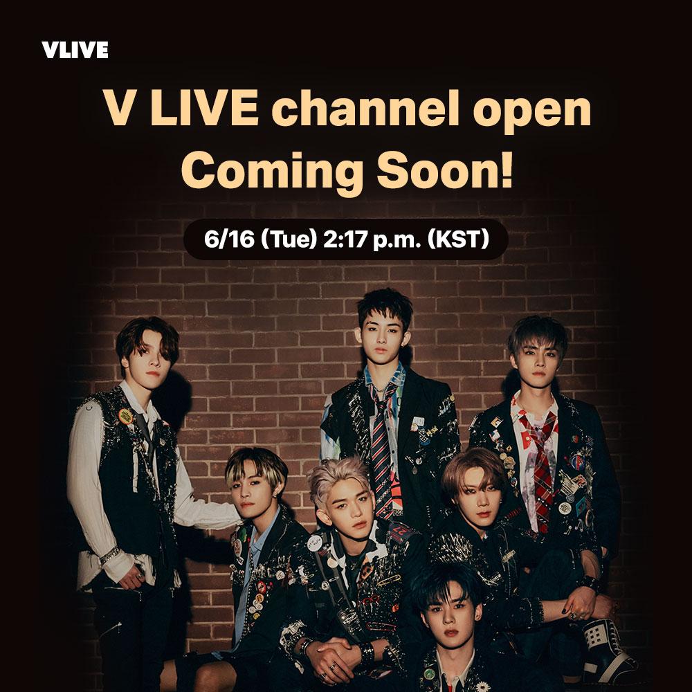 6/16 (화) 2시 17분 #WayV VLIVE 채널 오픈 예정! 팔로우할 준비 되셨나요?😆  WayV VLIVE channel will open at 2:17 p.m. tomorrow (KST)! Are you ready to follow it?❣️ 6/16(火)2時17分! WayV V LIVEチャンネルがオープンします