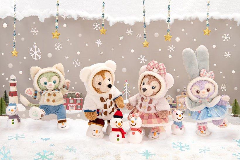 クリスマスシーズンにピッタリのダッフィー&フレンズのスペシャルグッズをご紹介