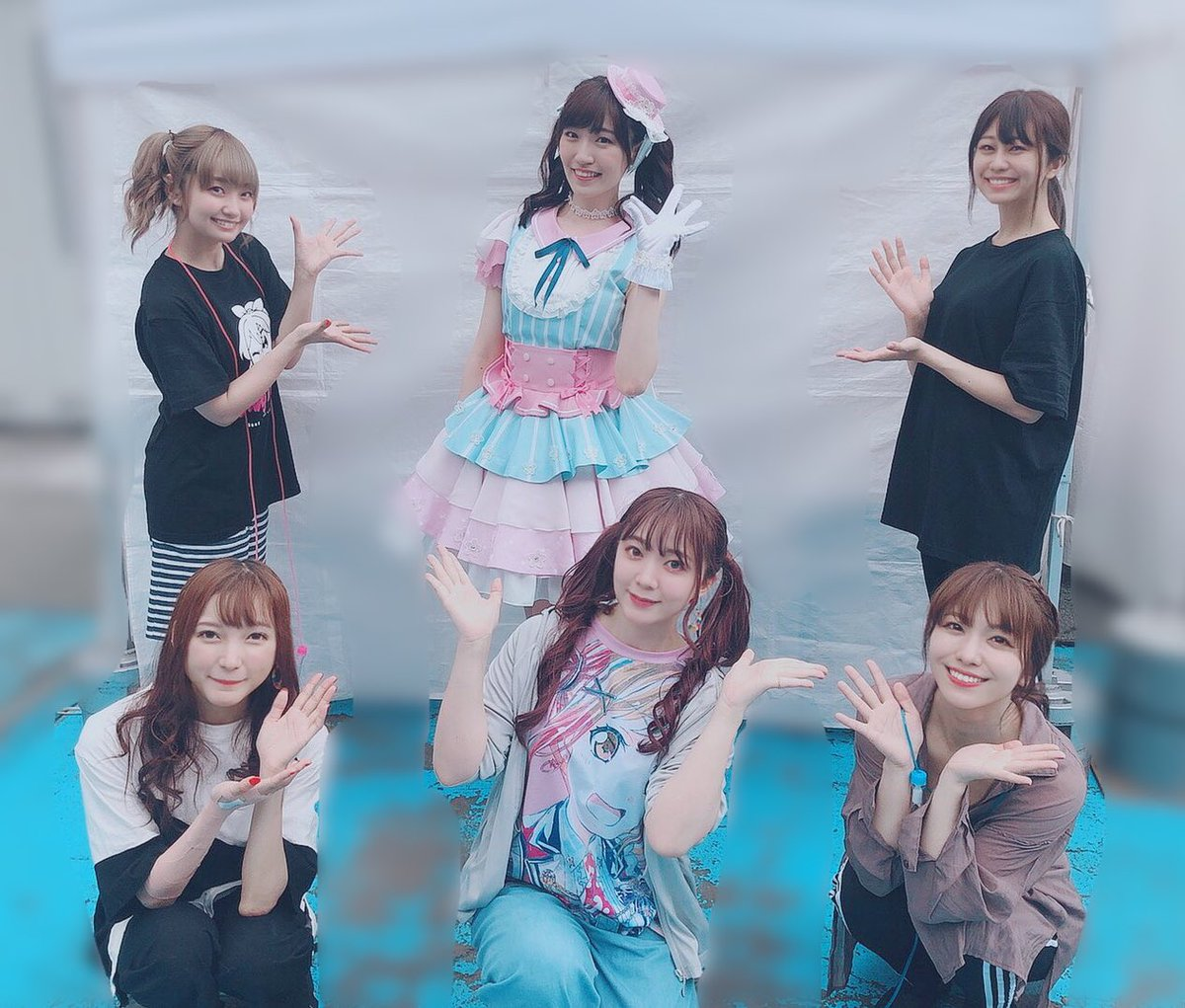 Poppin'Partyさんと♡ #バンドリ8th