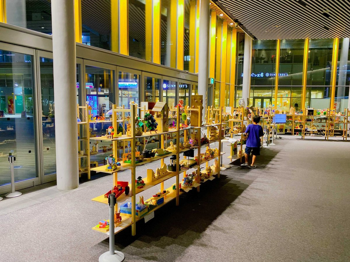 作品名「バターしみしみパン」  ふらっと立ち寄った先で、子供たちの木工作品が展示されていた中で異彩を放っていた