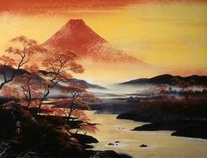 富士山に黄金の川は金運アップの画像なんです♪金運アップさせたい人だけRTしてみてください