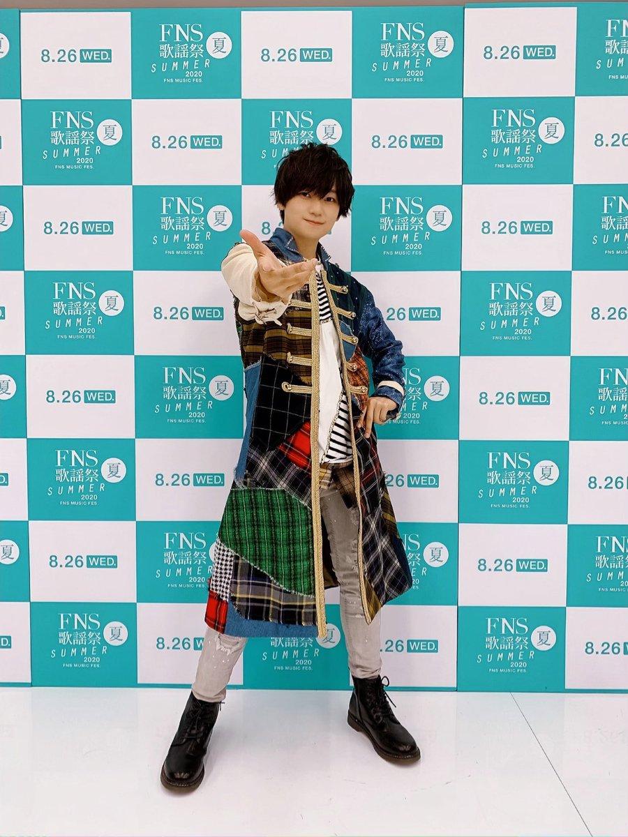 『FNS歌謡祭 夏』 「ハイスクール・ミュージカル」 #みんなスター!を 披露させて頂きました✨  とっても素敵な時間でした☺️ ご覧頂きありがとうございましたー✨ #声の王子様 #FNS歌謡祭👑