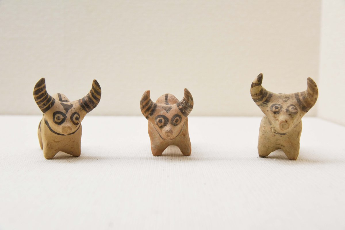 インダスとメソポタミアのはざま「バローチスターン」のコブウシ土偶