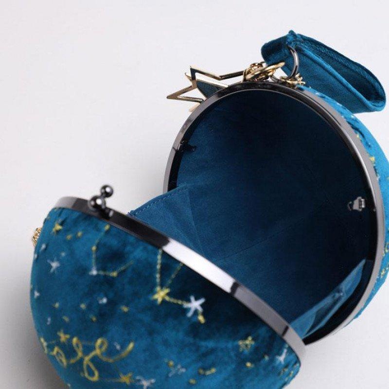 天球儀みたいなバッグかわ かわ かわい かわいい