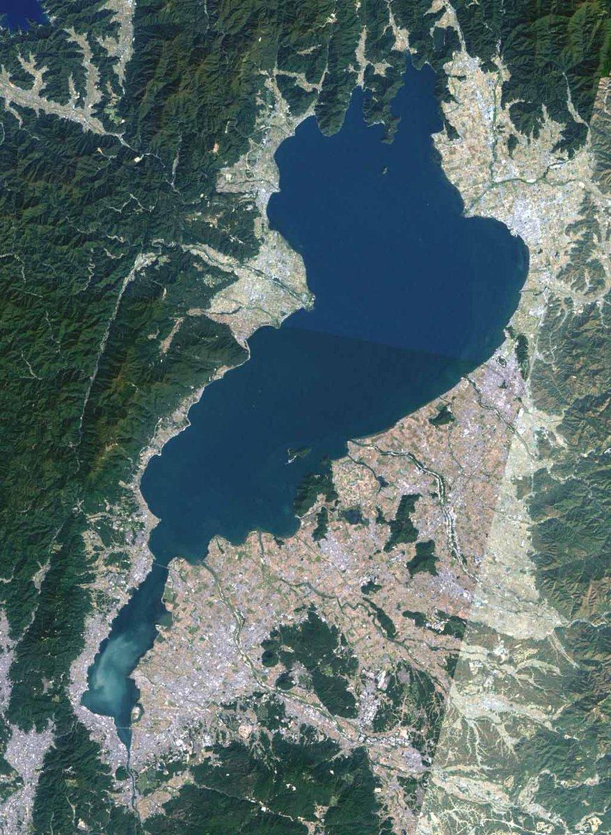 琵琶湖が豪鬼に見える現象