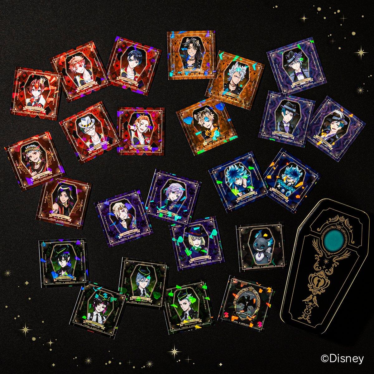 「ディズニー ツイステッドワンダーランド キャンディ缶コレクション」 12月発売決定