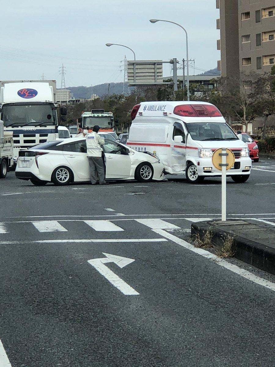救急車にプリウスミサイルが🤭