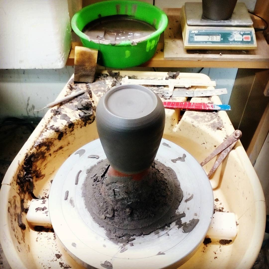 【鳥取の皆さんぜひ】海と砂丘を釉薬と生地で表現したカップ