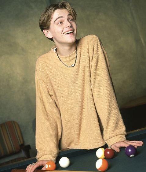 #成人の日 ということで、1994年、当時20歳のレオナルド・ディカプリオ上げときます