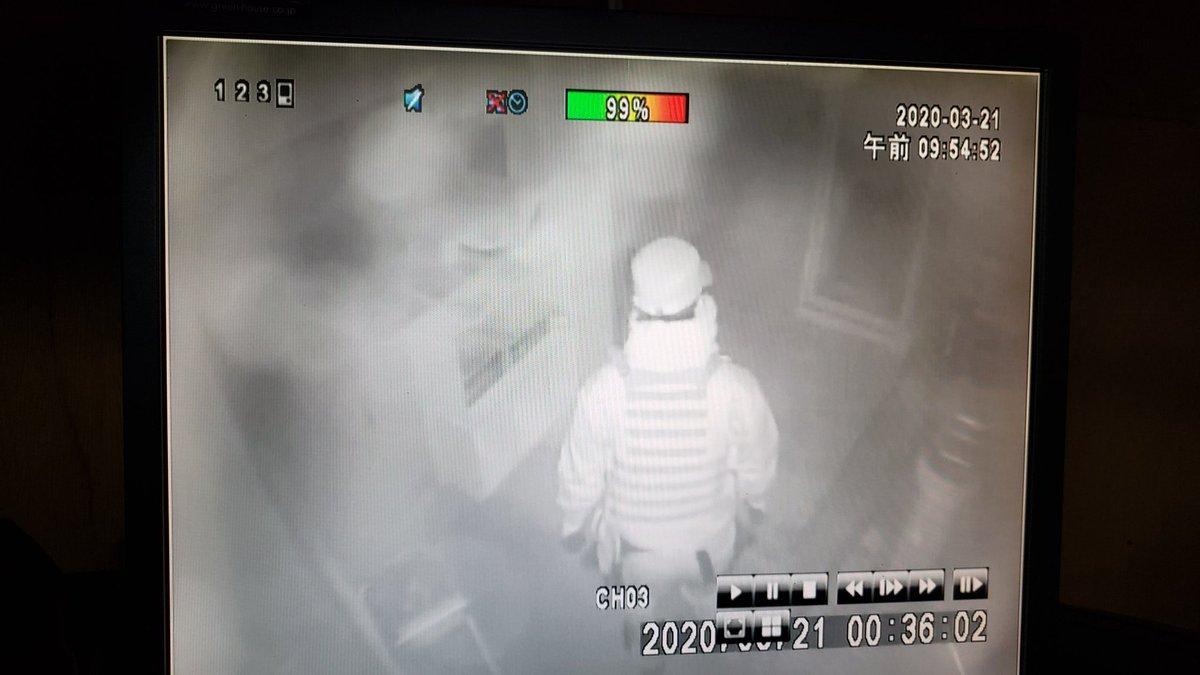 【拡散希望】 今朝未明、コンバットタウンにて盗難事件が発生しました