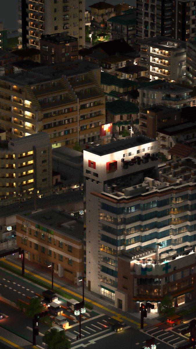 「マイクラ」とかいう都市シミュレーションゲーム(縦画像だから是非タップしてみて)