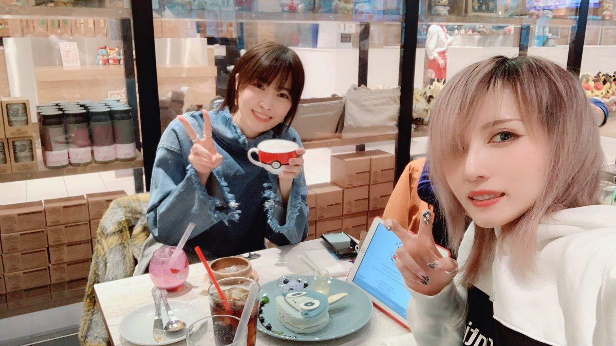 瑠璃子さんとポケモンカフェ行ってきた🥳 瑠璃子さんと遊ぶの初めてだったのでお誘い頂いてからどちどちの毎日でしたが大変楽しゅうございました