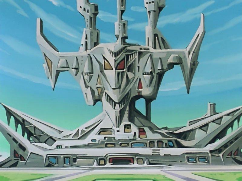 アマプラで『機動戦士ガンダム』のTVシリーズを流しながら仕事してて、「40年前のアニメなのにすげぇリアリティだな…」と思っていたのに、ジオン公国の本拠地がこれだったので「いきなり何