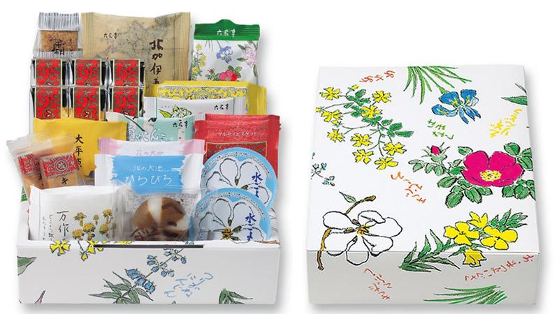 23個のお菓子詰め合わせが送料無料 3,000円(税込)