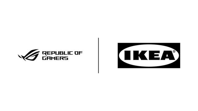 IKEAがASUS ROGと提携しゲーミング家具や関連商品を開発することを発表