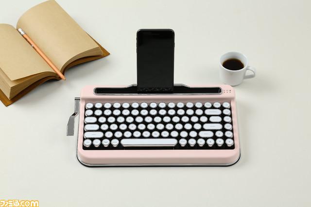 """タイプライター風ワイヤレスキーボード""""PENNA KEYBOARD""""が発売"""