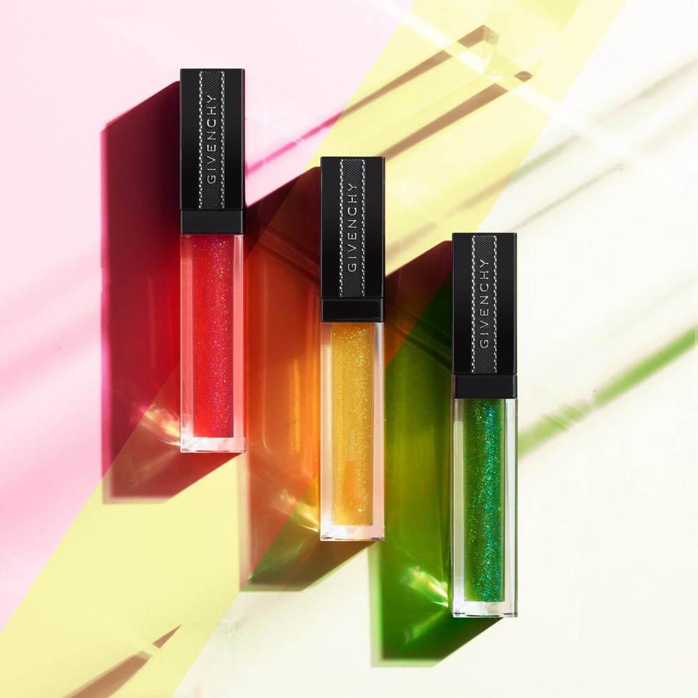 """ジバンシイ唇のpHで""""色が変わる""""人気リップグロスに「光」がテーマの日本限定色 -"""