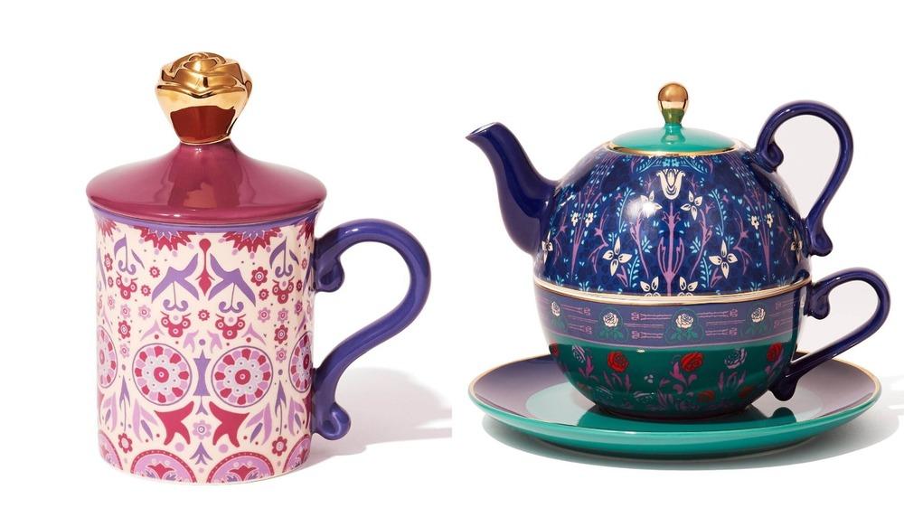 フランフラン×アナ スイのコラボインテリア雑貨、花×蝶が彩るテーブルウェアやルームフレグランスなど -