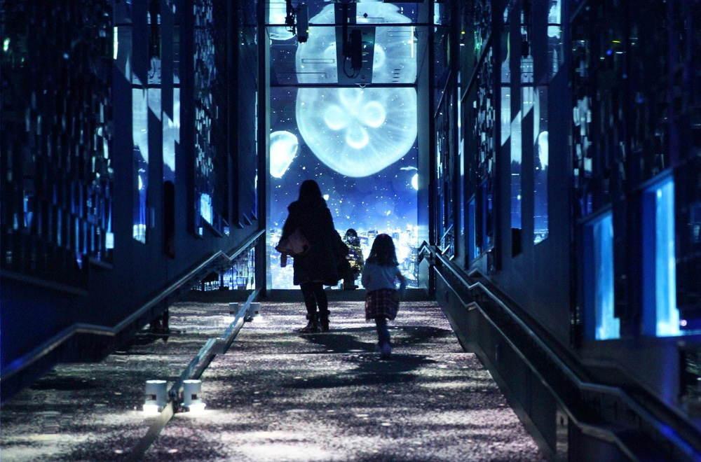【レポート】すみだ水族館「雪とクラゲ」美しい冬の都会にクラゲ浮かぶ幻想空間、会場の様子を一足先に公開 -