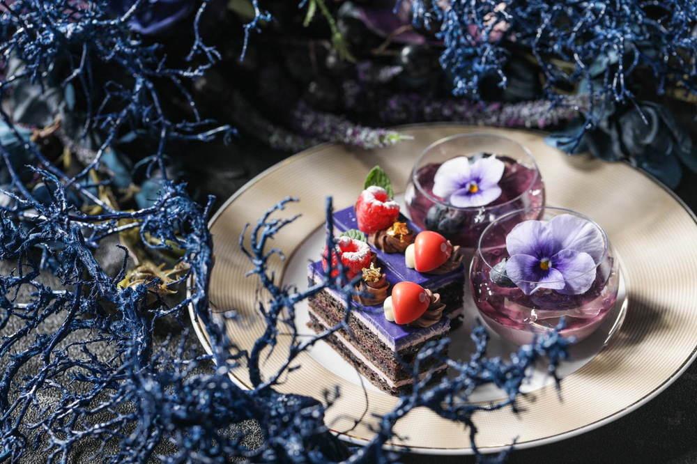 『白雪姫』の魔女の世界を表現、ストリングスホテル 名古屋で「ダークプリンセスアフタヌーンティー」 -