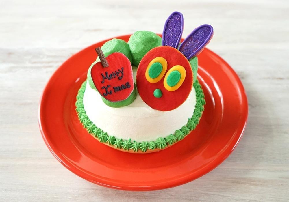 「はらぺこあおむしカフェ in 吉祥寺」新作フルーツたっぷりモンブラン&クリスマスケーキも -