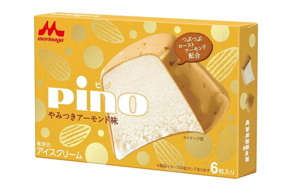 """「ピノ やみつきアーモンド味」アソートだけの人気アイスを単独発売、""""つぶつぶ""""ナッツをプラス -"""