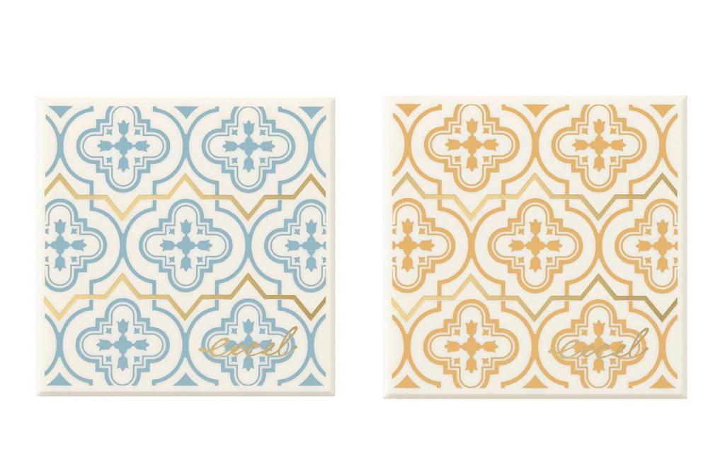 エクセル人気の単色アイシャドウ「アイプランナー」が限定アイパレットに、モロッコタイル風パッケージ -