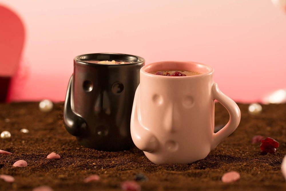 「はにわぷりん」のバレンタイン限定セット、本格ルビーチョコ&濃厚チョコ入りの特別仕様 -