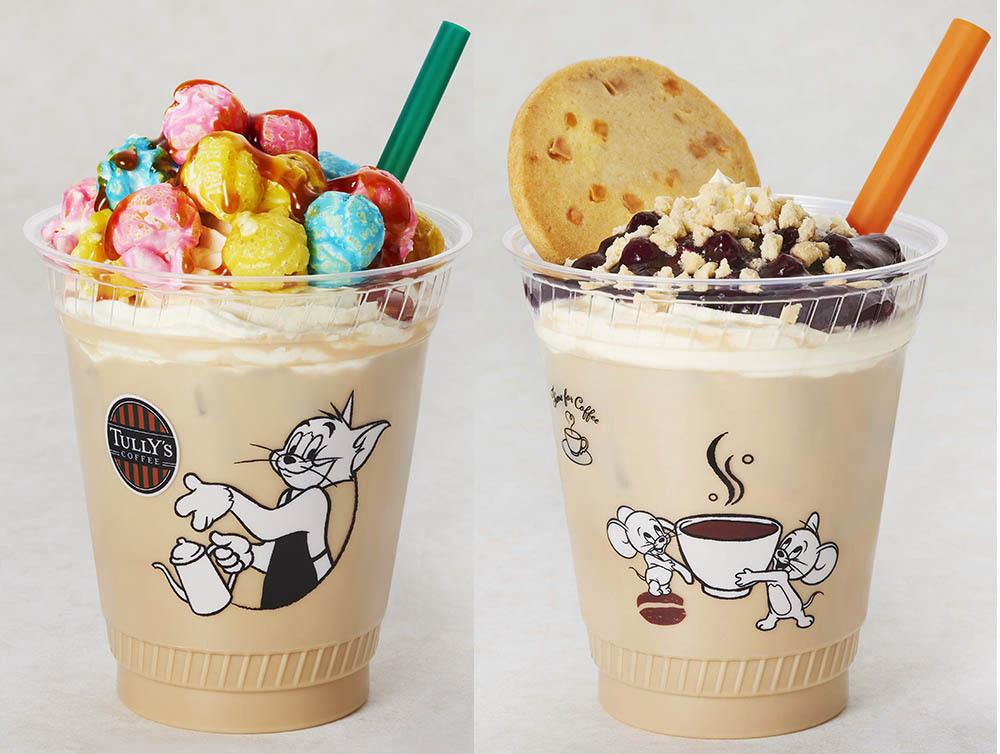 タリーズコーヒー×「トムとジェリー」、限定ドリンク&フードとオリジナルグッズが発売 -