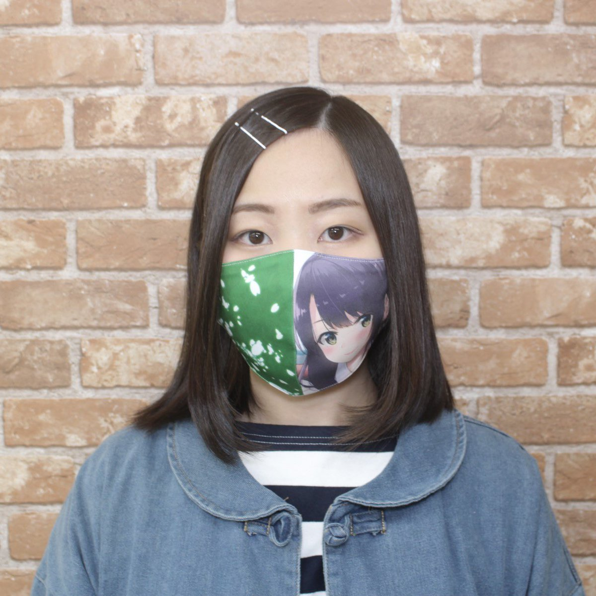 フルグラ布マスクを作ってみました