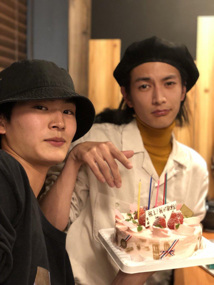 本日、押田岳22回目の誕生日を迎えることができました