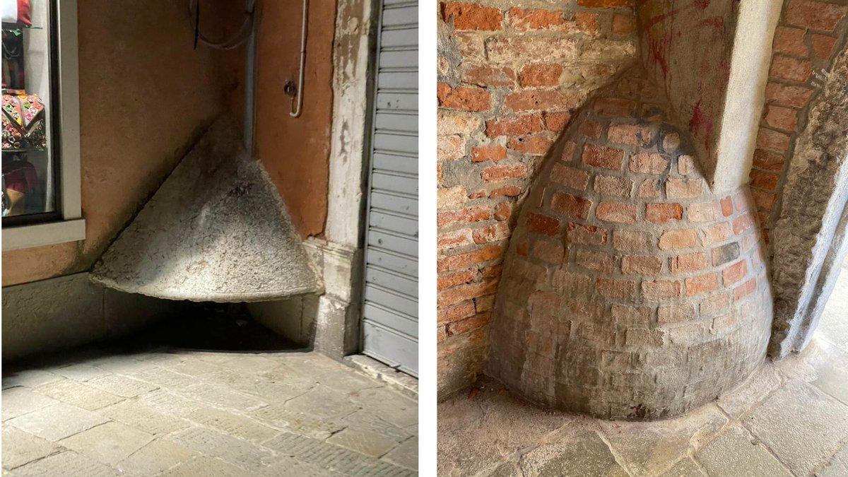 ヴェネツィアで何コレ?と思いつつ撮り溜めた街路の隅にある変な塊は
