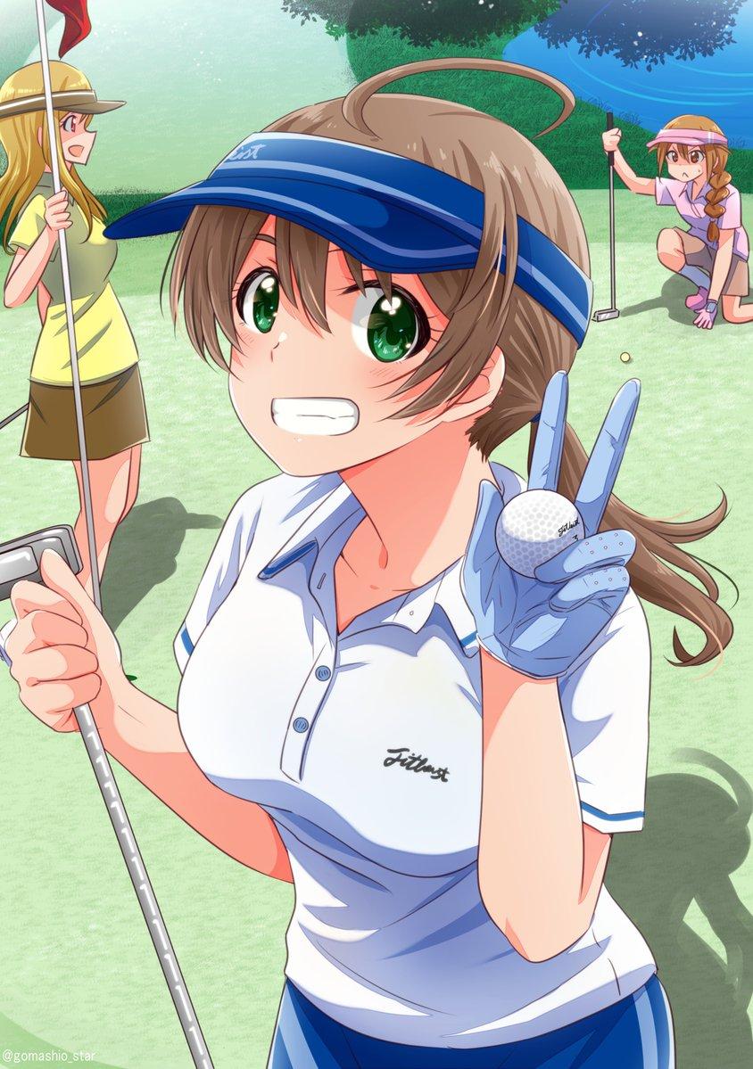ゴルフが特技らしい歌織さんとラウンドしに行ってみたら想像以上に凄かった回
