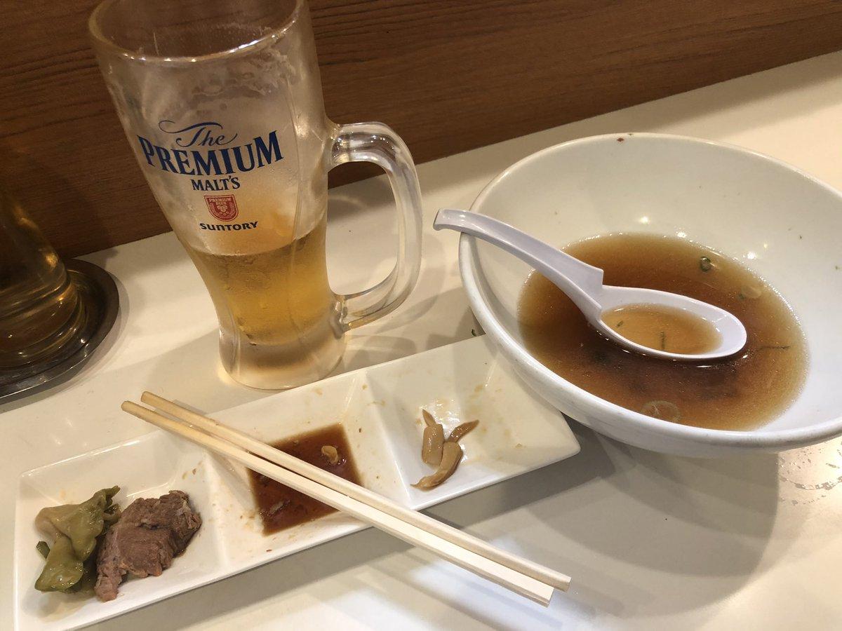 また撮る前に食べてしまった… うっかりうっかり  新橋駅のラーメンほりうち