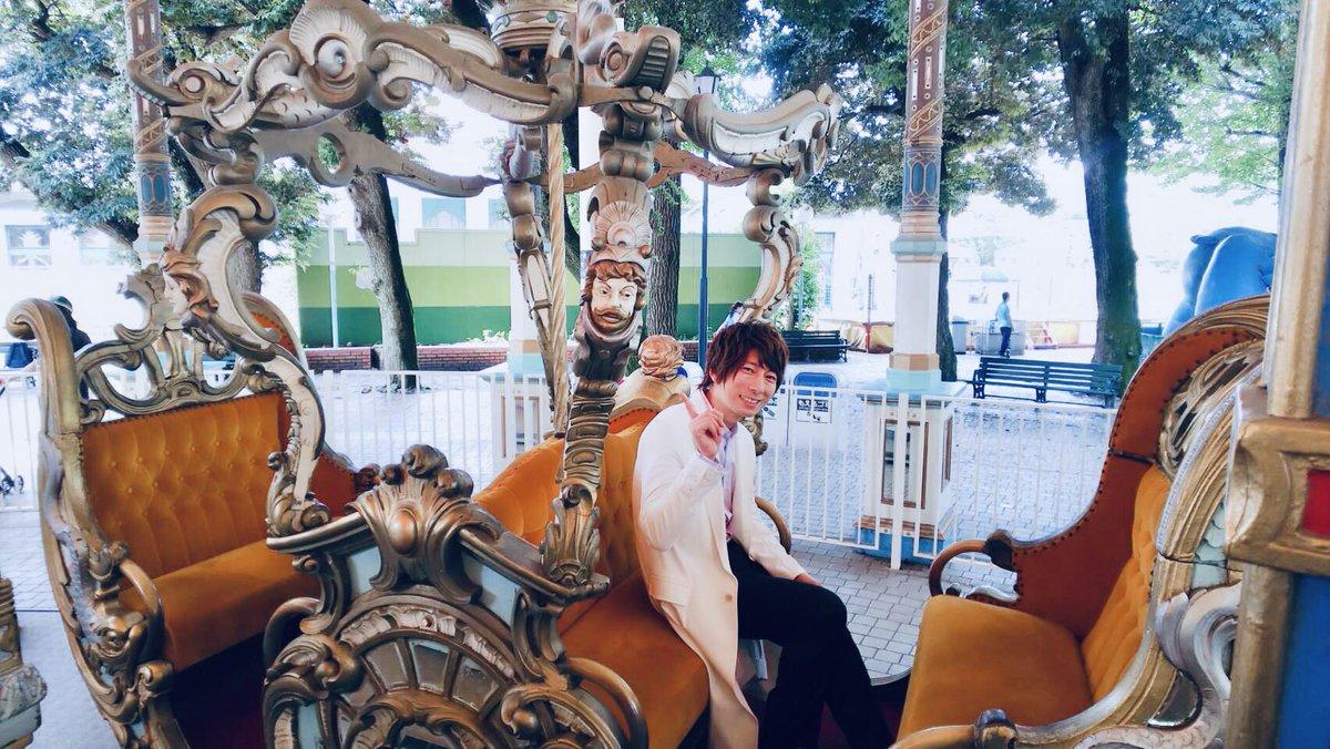 『幻想マネージュ』のイベントでカルーセルエルドラドに乗せていただいた時の写真です