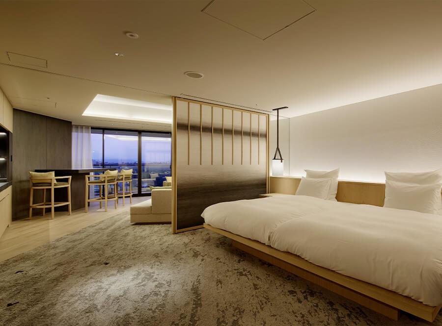 2020年6月に東京立川にオープンした「ソラノホテル」が素敵… 温泉水を使ったインフィニティプールを屋上に設置、空と水平線が一体となる開放感を味わえます