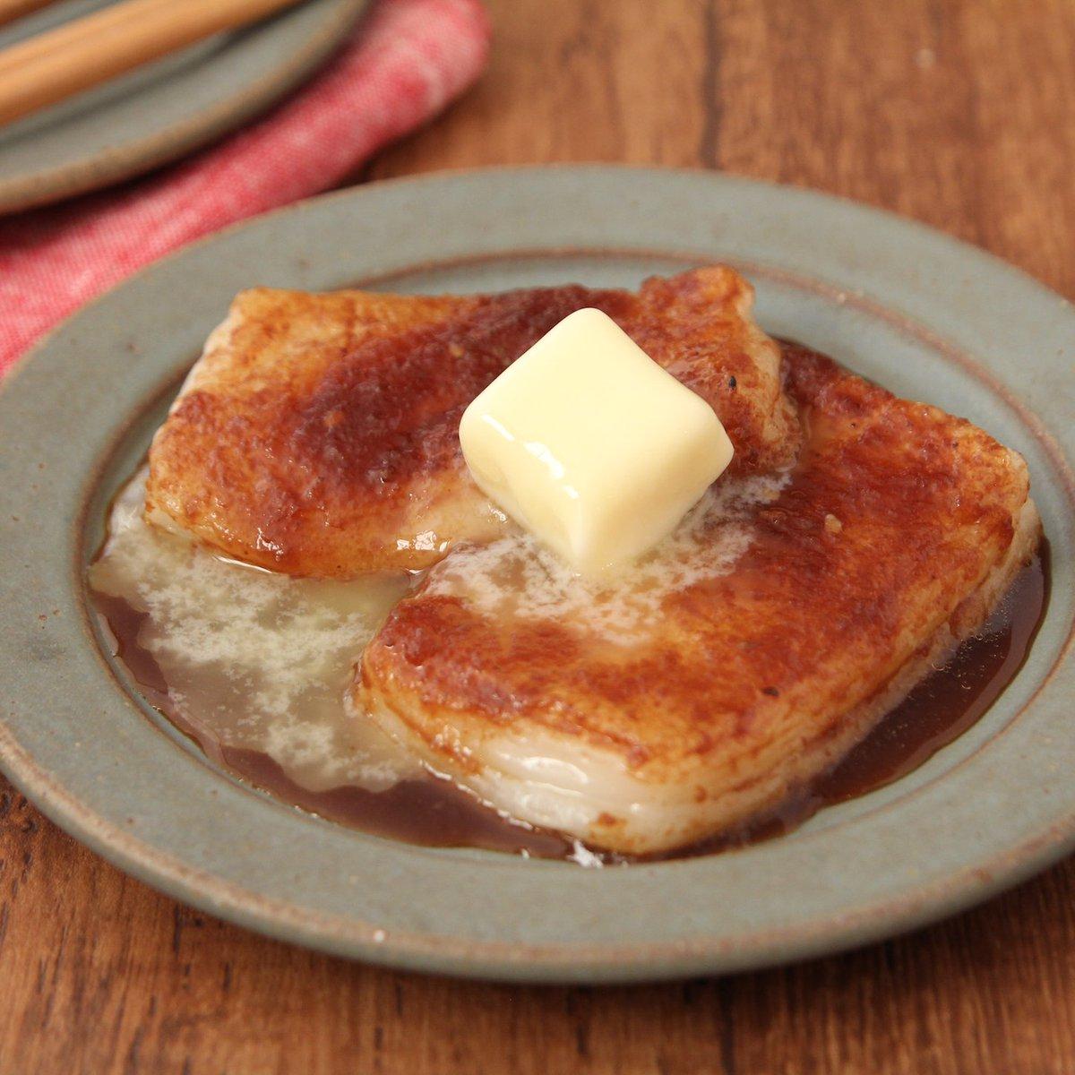 甘辛だれがお餅に絡んで、お肉食べるような満足感です