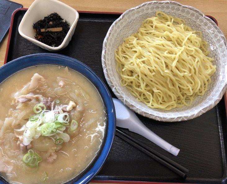 豚汁つけ麺