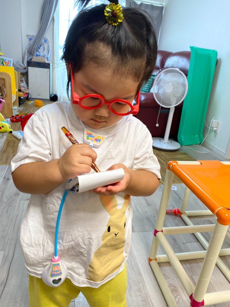 3歳児のお医者さんごっこに信頼の置けそうなお医者さんが出てくることってあるんだ