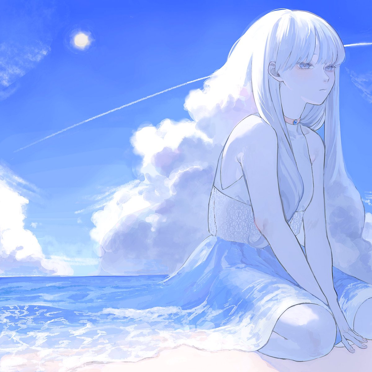 『青と白』