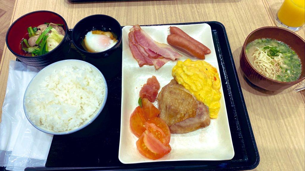 朝からもつ鍋と博多ラーメン! 最高だなぁおい!!!!!